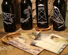 Backcountry Brew Company Bottles #packaging #beer #label #bottle