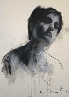Mark demsteader #paint #illustration #illustrator #woman