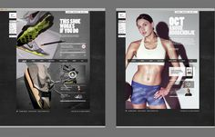 Me and Myself | LUST NATION #inspiration #images #desktop #photo #website #nike #web #typography