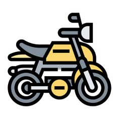 See more icon inspiration related to bike, sports and competition, motor sports, transportation, bikes, motorcycle, motorbike and transport on Flaticon.