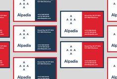 Alpadia Language Schools by Jorge León #brand design #stationery