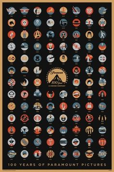 100 Years of Paramount Pictures | BLDGWLF #icon #movie