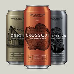 MacKinnon Brothers Brewing Co. #branding #beer #package design #packaging #canada #brewery #craft beer