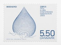 Danish Stamp design