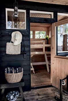 Simple Finnish Summerhouse Inspiration - emmas designblogg