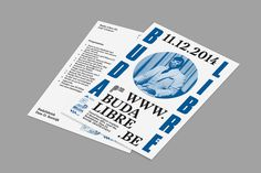The new 'Buda Libre' at Kortrijk, by Team Lavalamp, 2014 #print #poster