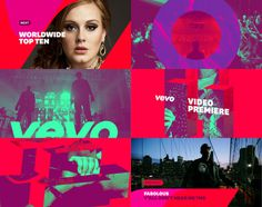 Vevo on Behance