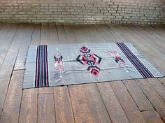 Vintage Native AmericanStyle Rug by territoryhardgoods on Etsy #pattern #vintage #native