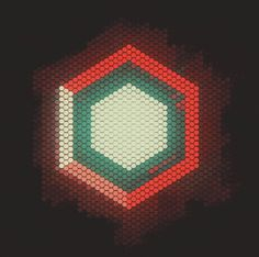 meta_hexa #animation #geometry #anim #gif #hexagon