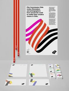 Visual System FCCh by Hey Studio on the Behance Network #business cards #letterhead #stationery