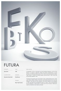 Type Posters on Typography Served by KateBrunn