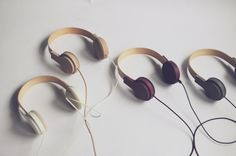 Fusefones by Franklin Gaw at Coroflot.com #music #design #headphones