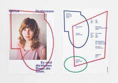 HelloMe, Patrick Desbrosses, Typography, Shape, Modern