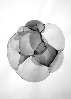 Buamai - Bubble Drawings : Charlotte X. C. Sullivan #photography #water #ink