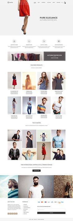 fashion, red, web design, ecommerce, layout #fashion #red #web design #ecommerce #layout
