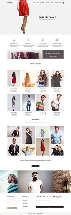 fashion, red, web design, ecommerce, layout #fashion #red #web design #ecommerce #layout