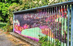 Hidden Railing Street Art10 640x409 #guerillia #picture #nice