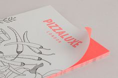 Pizza Luxe designed by Touch #lines #pizza #neon