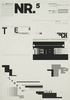 Contextual & Theoretical Studies: Wolfgang Weingart - Influential Designer on the look of postmodern graphic design.