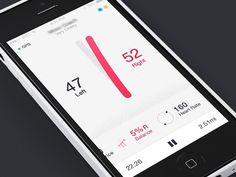 Balance Concept #interactive #dribbble #design #ui #digitial #mobile #ios