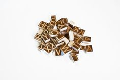 The Design Blog #wood #letters