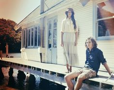 Strummer SS12: 'Halcyon Days' Campaign Edwina Hagon Portfolio The Loop #couple #folk