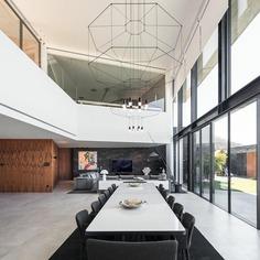 V-Shaped Concrete House in Braga