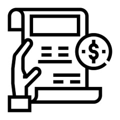 See more icon inspiration related to bill, payment, receipt, ticket, business and finance, commerce and shopping, invoice, commerce and business on Flaticon.