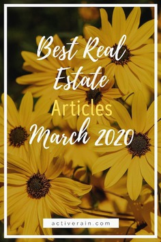 Helpful Real Estate Articles for Buyers and Sellers March 2020