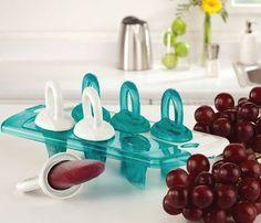 Fresh Food Freezer Pops #home
