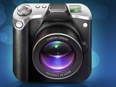 Dribbble - Camera Genius by Artua #icon #camera #iphone