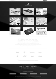 Portfolio Fall 2012 by Joost Huver #showcase #portfolio #design #interface #website #web