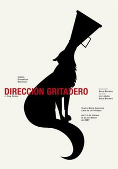CDN : Isidro Ferrer #design #graphic #poster #wolf #art