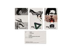 MySpace by Bleed #print #hotstamp #cards