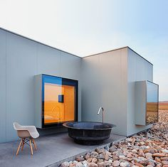 Hotel Aire de Bardenas, by Barcelona based architects