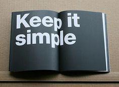 Simple #book design