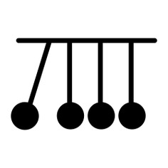 See more icon inspiration related to momentum, physics, energy, newtons cradle and education on Flaticon.