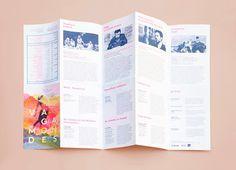 design, leaflet, layout, colour