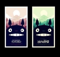 Olly Moss - I worked with Studio Ghibli and Mondo to create...