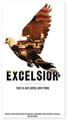 The Official Manufacturing Company / Work / Ace Hotel / Print Ephemera #birds #poster