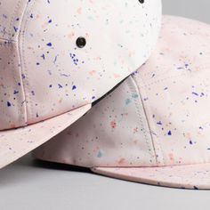 The confetti cap by Marta Veludo for RESTORED