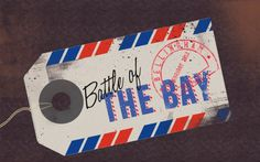 Battle of the Bay « 1985 Creative #design #illustration #photoshop #type #typography