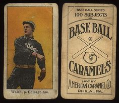 e90-1walsh.jpg 434×377 pixels #baseball #vintage