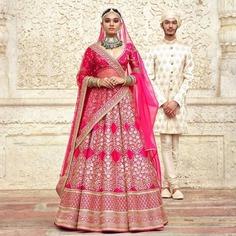 Royal Pink Bridal Lehenga