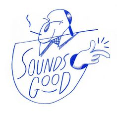Ben Sanders - Sounds Good #illustration #sanders #ben