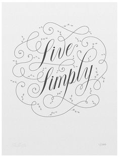 Live Simply by 55 Hi's