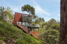 Hillside Residence by Zack de Vito Architecture / California