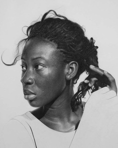 Hyper-Realistic Pencil Drawings by Arinze Stanley – Inspiration Grid | Design Inspiration