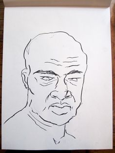 Fred Truman / Drawing Without Ego – Week 05 #life #sketch #art #drawing