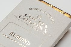 #emboss #gold #print #package #cocoa #chocolate